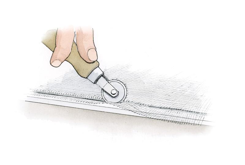 Step 1 (Illustration: Rob Leanna)