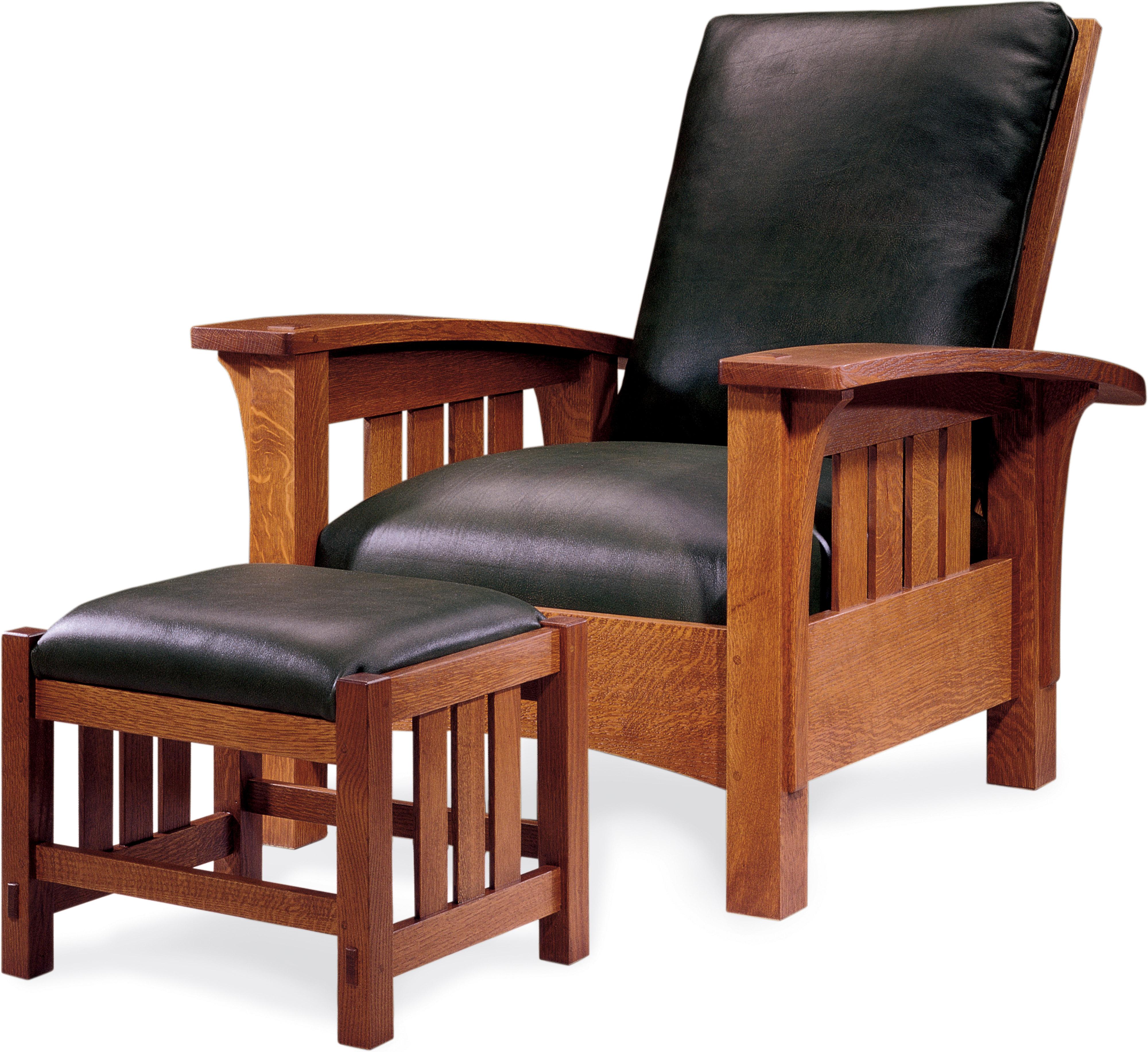 Bow Arm Morris chair.