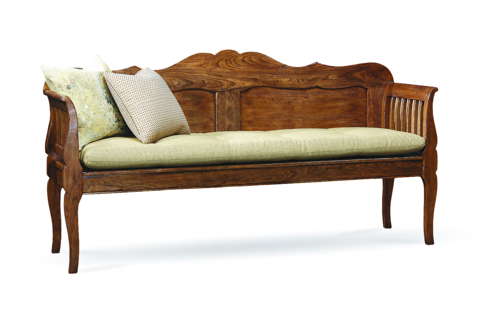 'Marcellus' bench from Stickley's Finger Lakes Collection