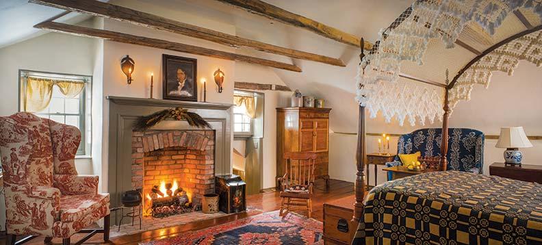 stone-house-patina-bedroom-fireplace