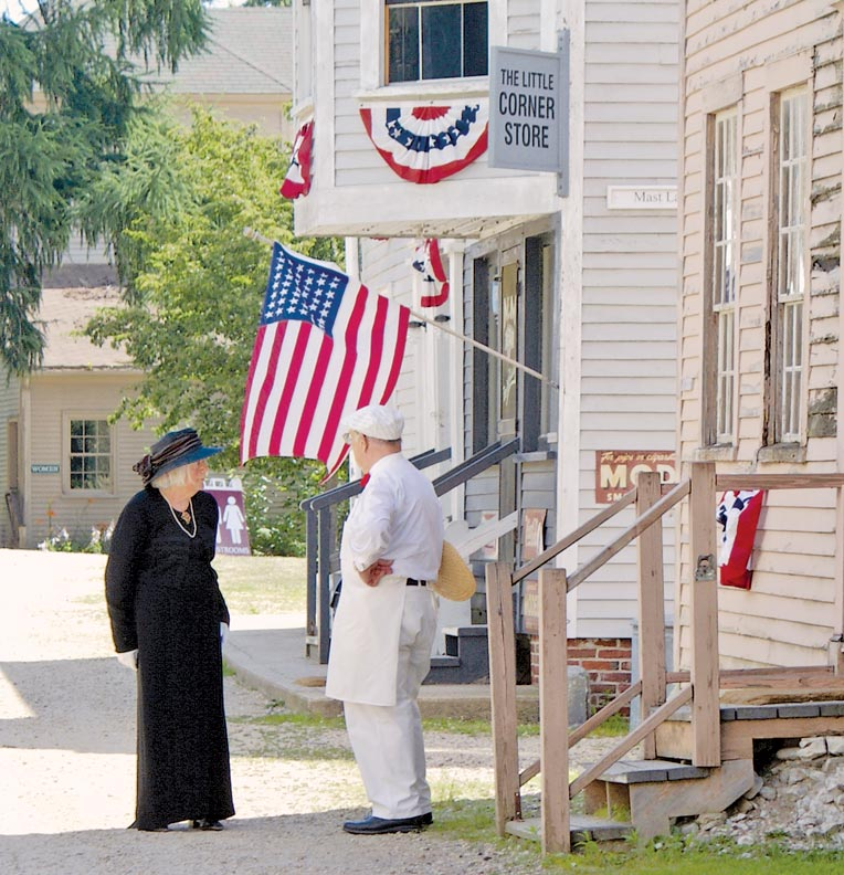 Colonial History at Strawbery Banke Museum
