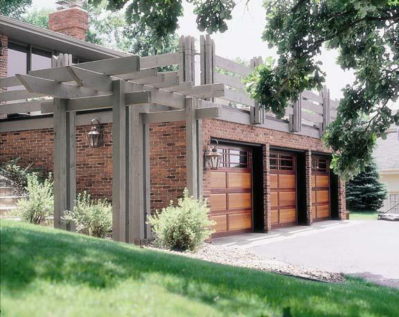Top-light garage doors by Designer Doors