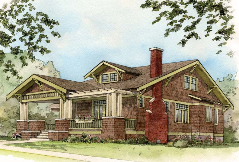 Early 20th century suburban house styles old house Century home builders