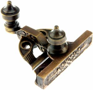 Antique window hardware