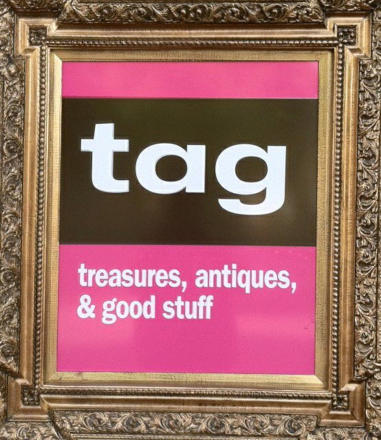 Tag Treasures Antiques And Good Stuff Old House