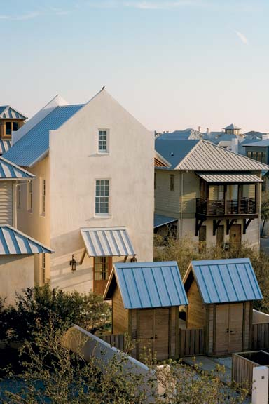 The 107-acre community of Rosemary Beach has high standards when it comes to its design and building practices.