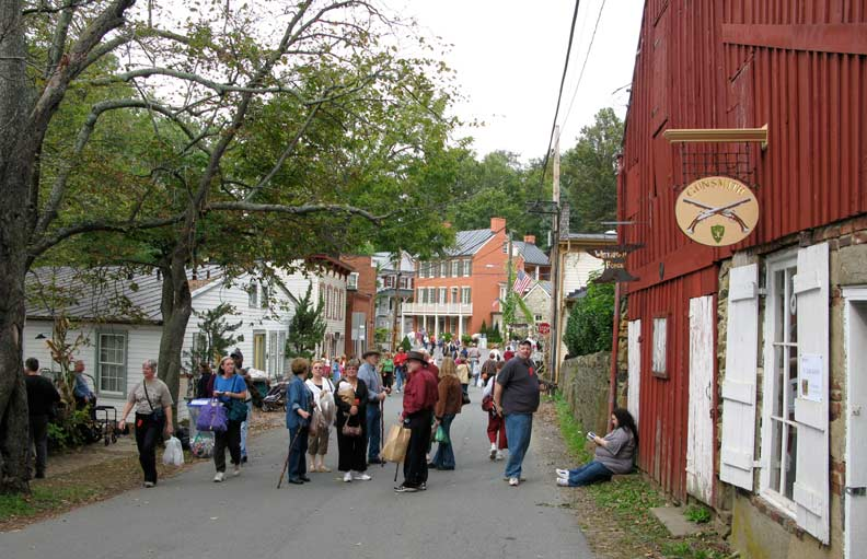 The annual Waterford Fair draws big crowds to the tiny town.