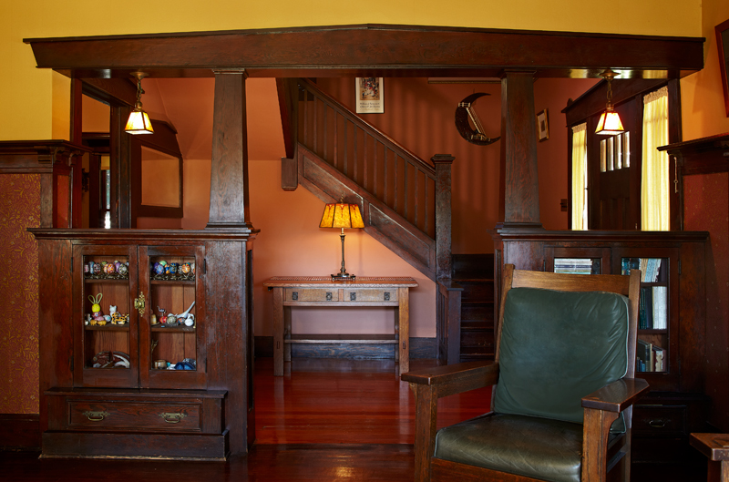 Pasadena Bungalow With Original Woodwork Restoration