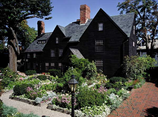 The House of the Seven Gables made famous by Hawthorne.
