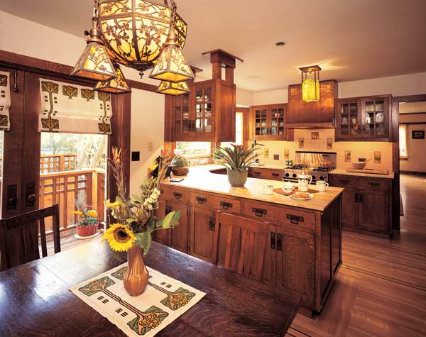 Restoring a frank lloyd wright kitchen restoration for 1930s bungalow interior design