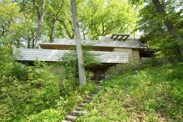 Pew House by Frank Lloyd Wright