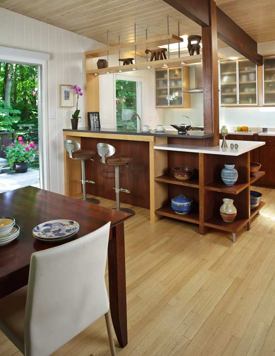 charming Mid Level Kitchen Cabinets #4: Inspiration From Mid Century Modern Kitchens Old House .
