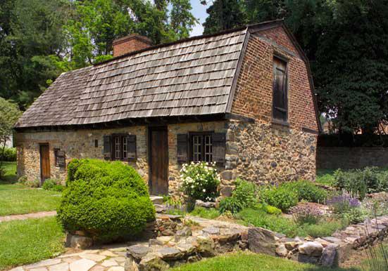 Caleb Pusey House, stone house