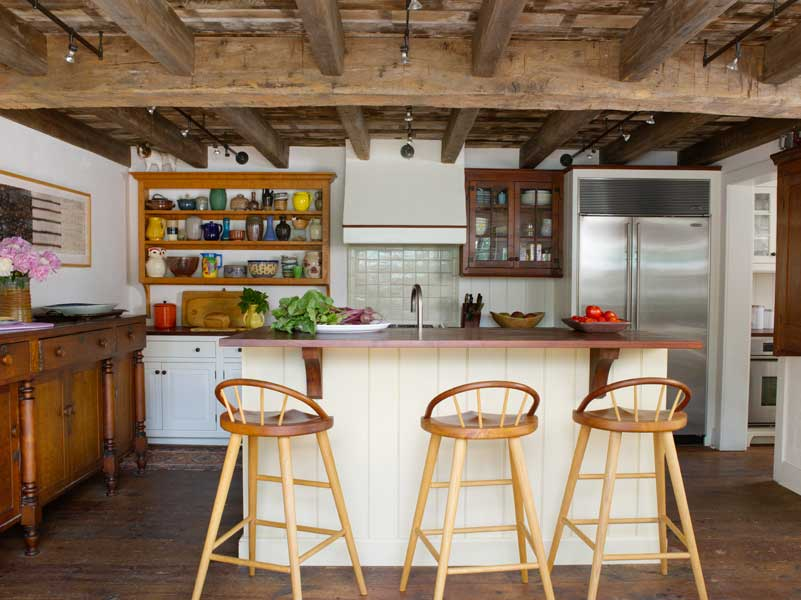 Designing a Country Kitchen for an 18th-Century House