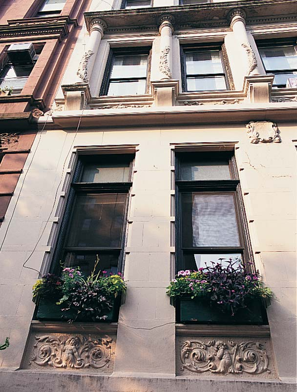 The Upper West Side of Manhattan retains grand houses.