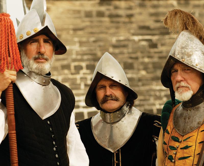 modern-day conquistadors
