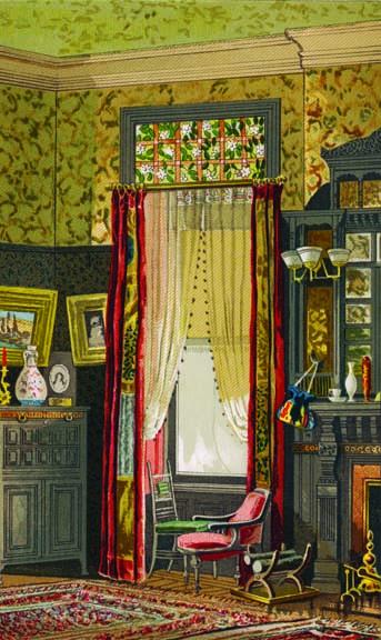 Louis Comfort Tiffany morning room