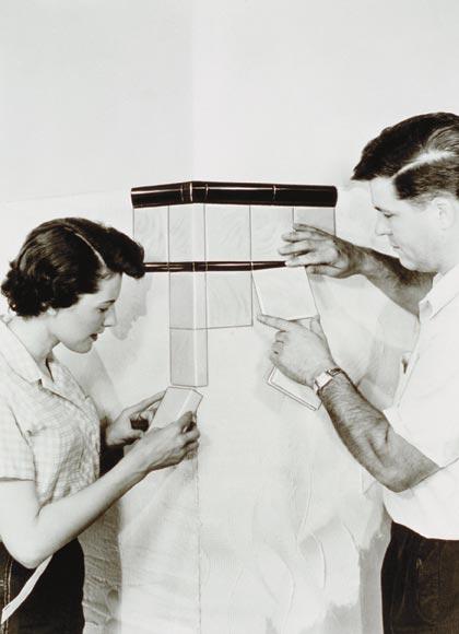 Archival tile photo
