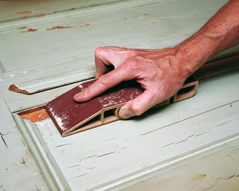 A hand sander is a valuable asset for tasks that demand a lighter touch.