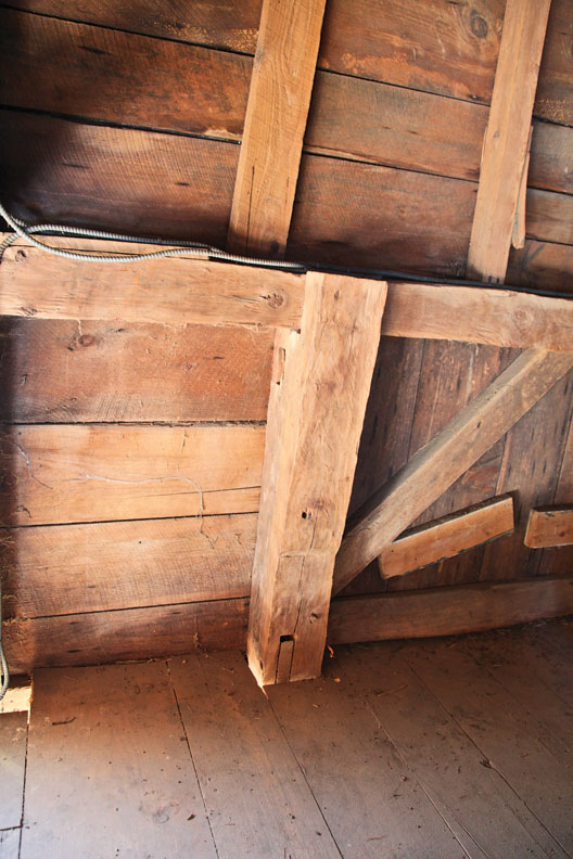 The Traditional Timberframe and Research Advisory Group keeps a database of older timber-framed structures across the region.