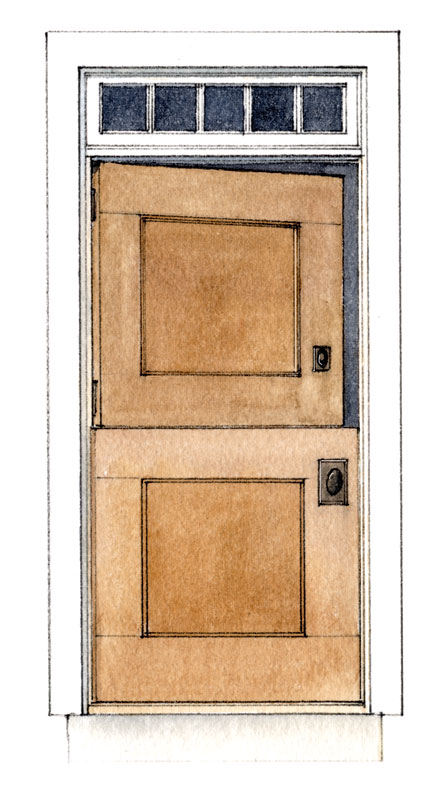 House windows and doors - Architects Look At Size And Materials When Designing The Perfect New Old House Door Or Window