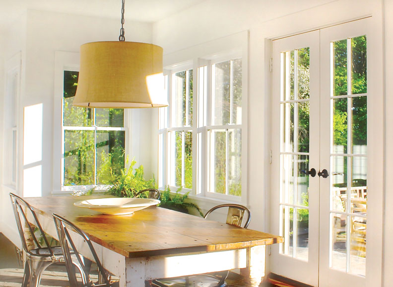 Green Mountain Windows designs perfectly proportioned windows.