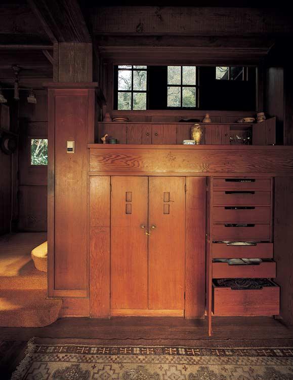 dining-room built-in