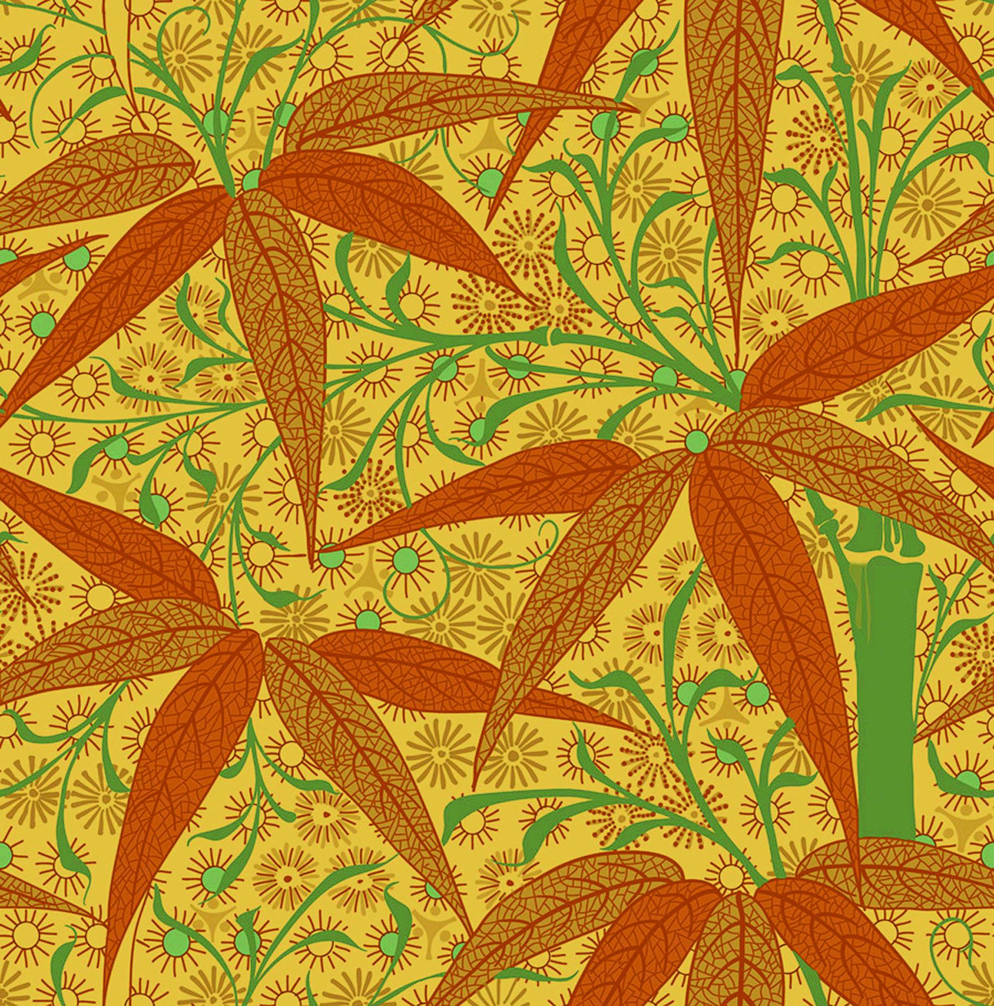 Trustworth Studio's 'Bamboo' William Morris wallpaper