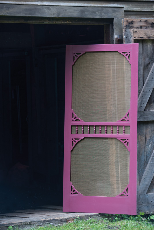 Period Style Screen Doors Restoration Amp Design For The