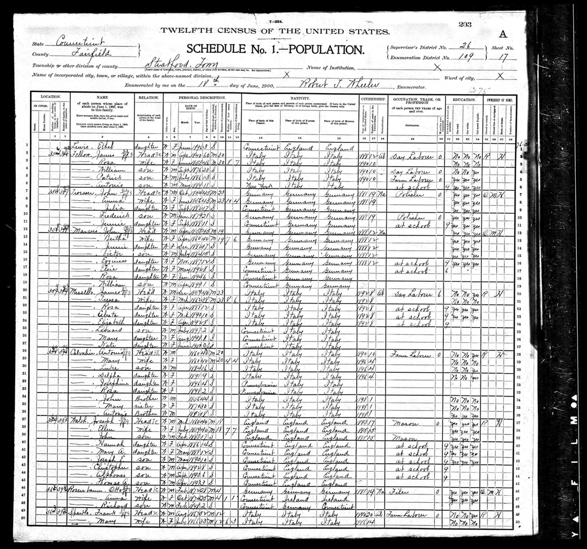 US Federal census