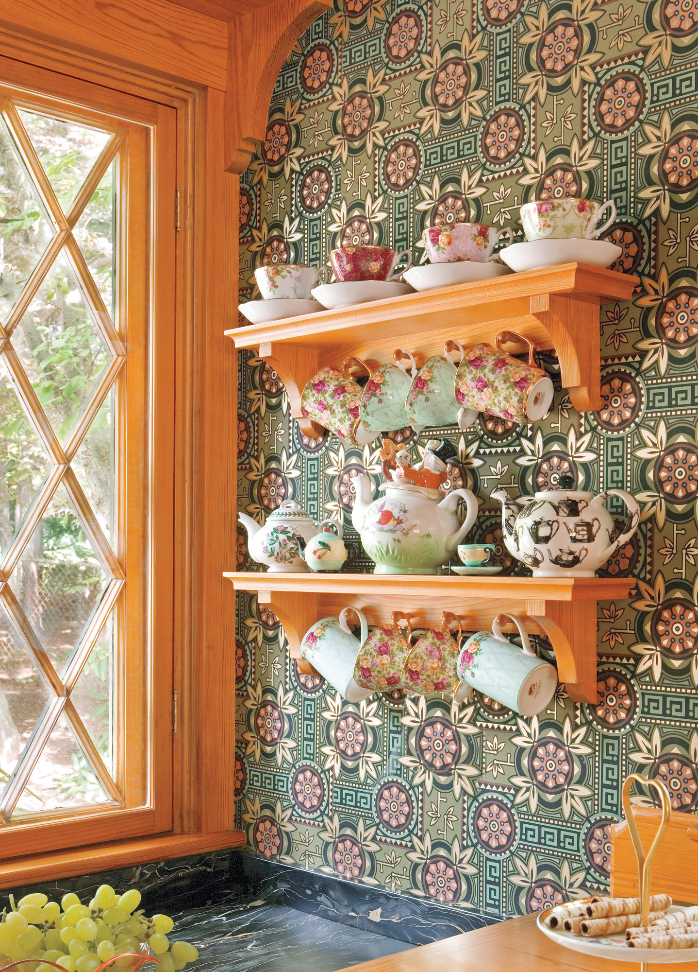 Old-house Kitchen Shelving