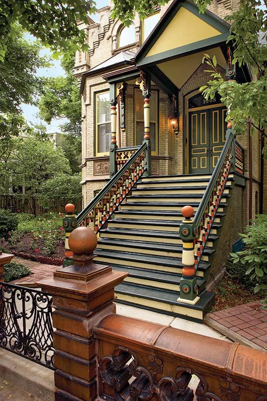 Victorian color scheme