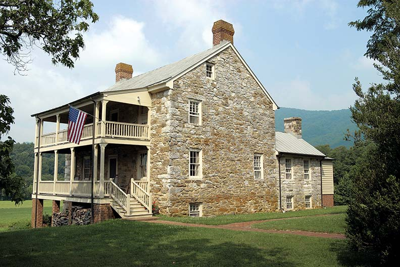 With its stones remortared, Stiltington has regained its former dignity on what two centuries ago was Virginia's western frontier.