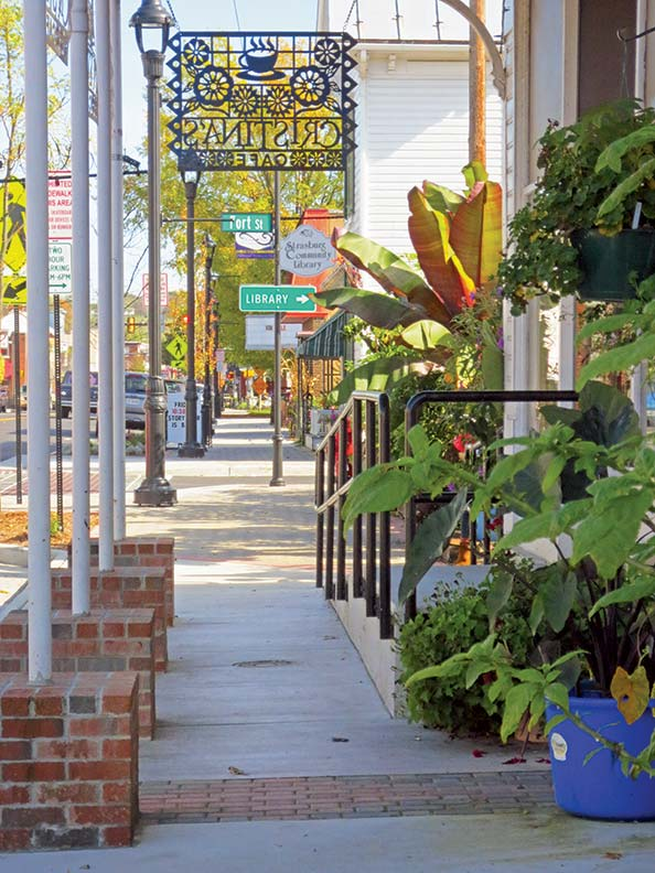 Strasburg is a small Virginia town in the Shenandoah River Valley, just west of the Blue Ridge.