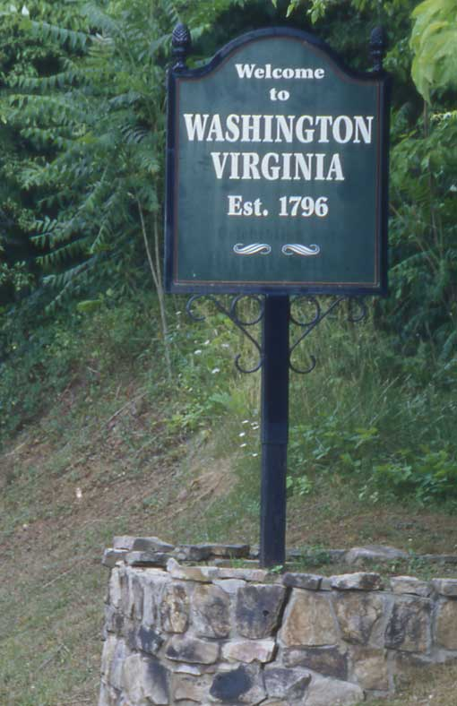 Washington, Virginia, was the first of more than two dozen communities in the U.S. named for our Founding President.