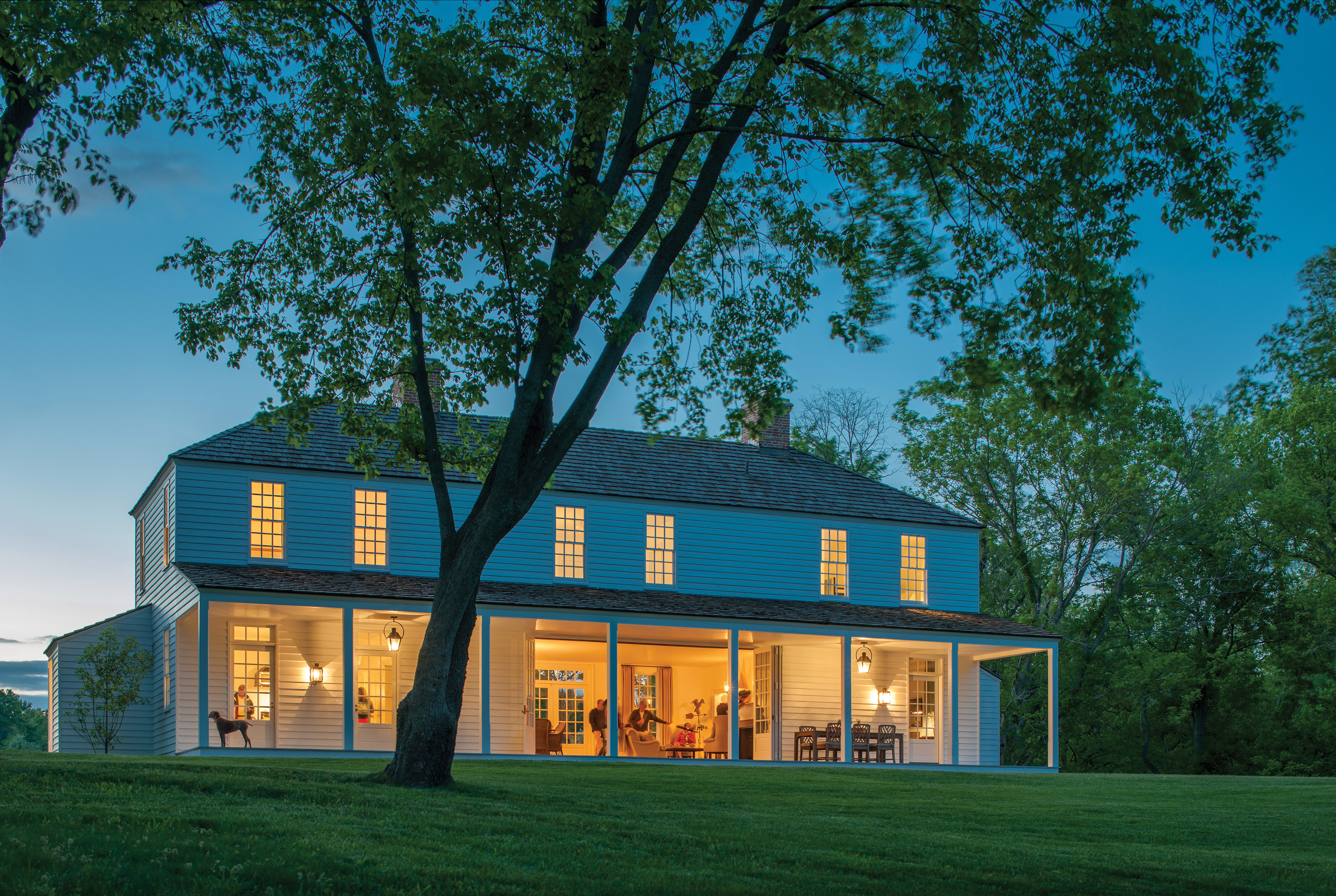 A New-Old Farmhouse in Maryland