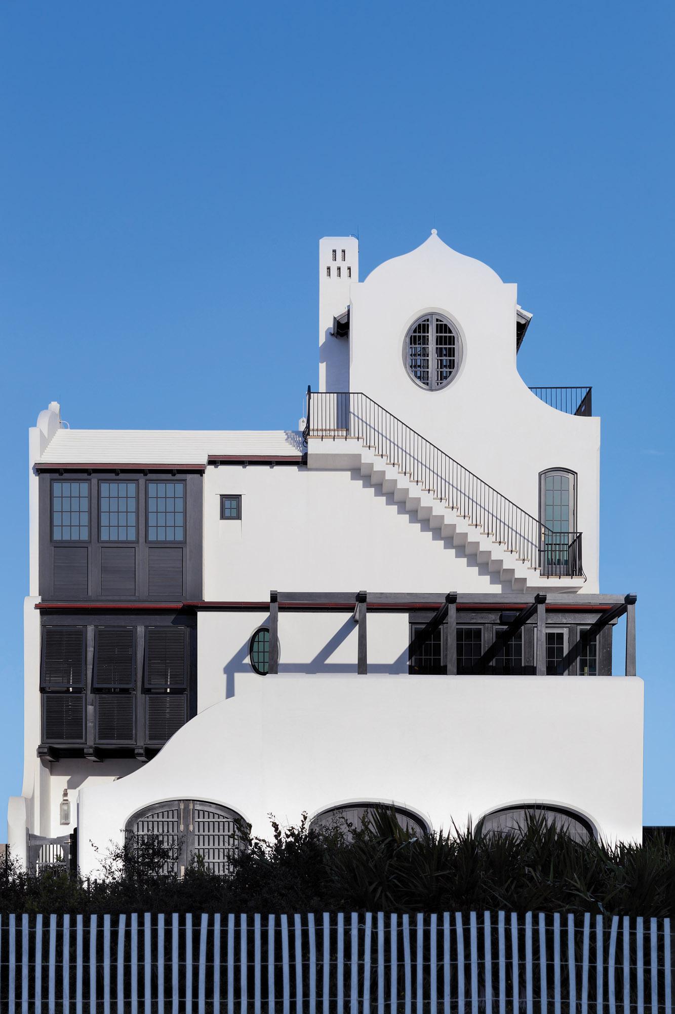 Moorish Gothic Beach house