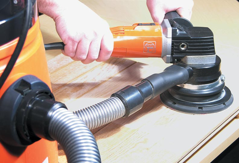 Power tools can be connected to many vacuums so that they can collect dust before it hits the floor.