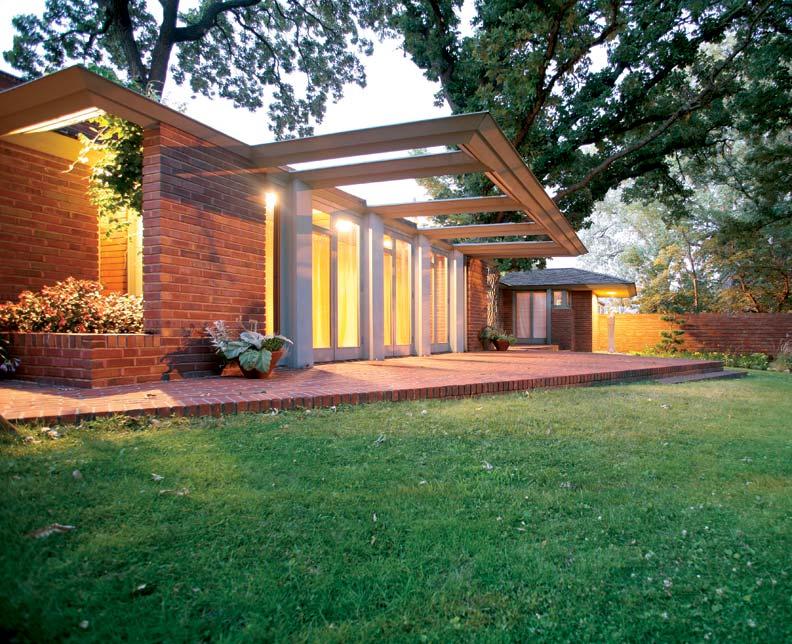 Restoring Frank Lloyd Wright's Willey House