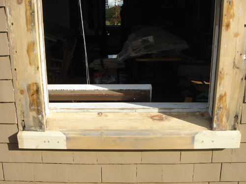 Window sill restoration