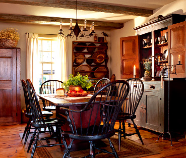Colonial Dining Room: Old House Restoration, Products