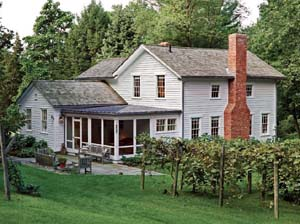 Farmhouse Retreat In The Country Old House Restoration: old country farmhouse