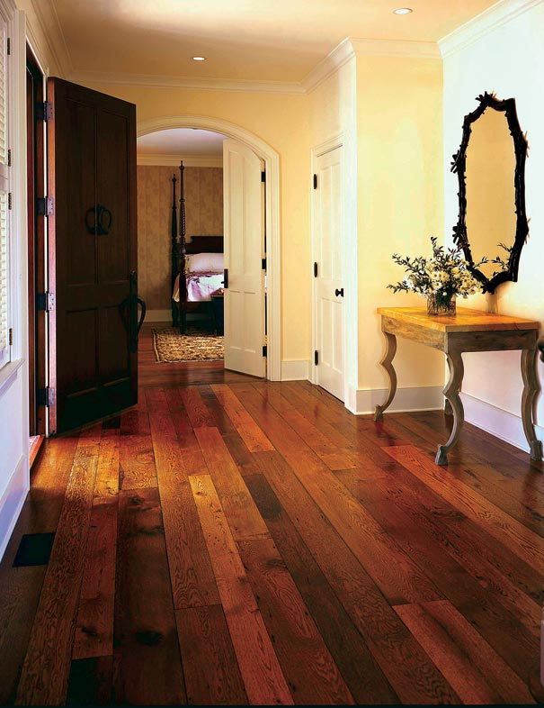 The history of wood flooring old house restoration for Homes with hardwood floors