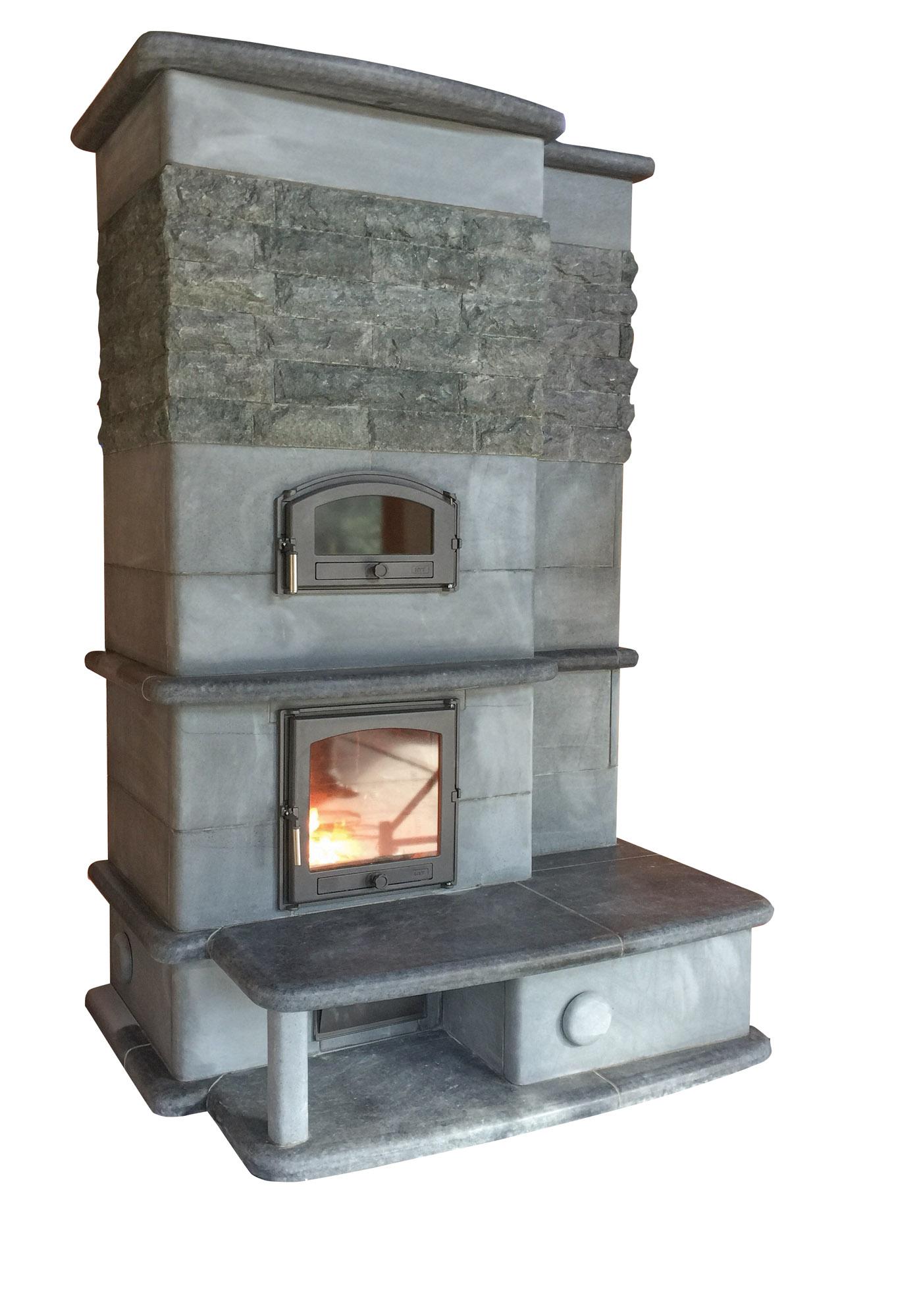 Sinatra Cuisine masonry heater