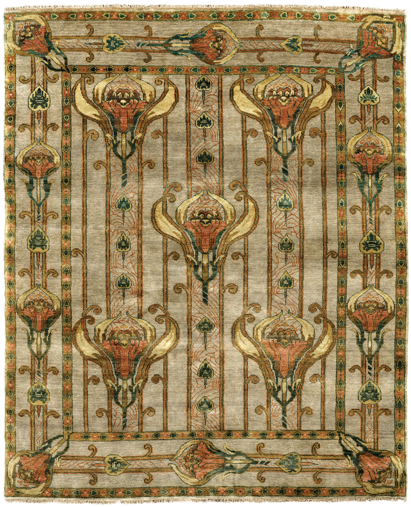 The Field Lilies rug
