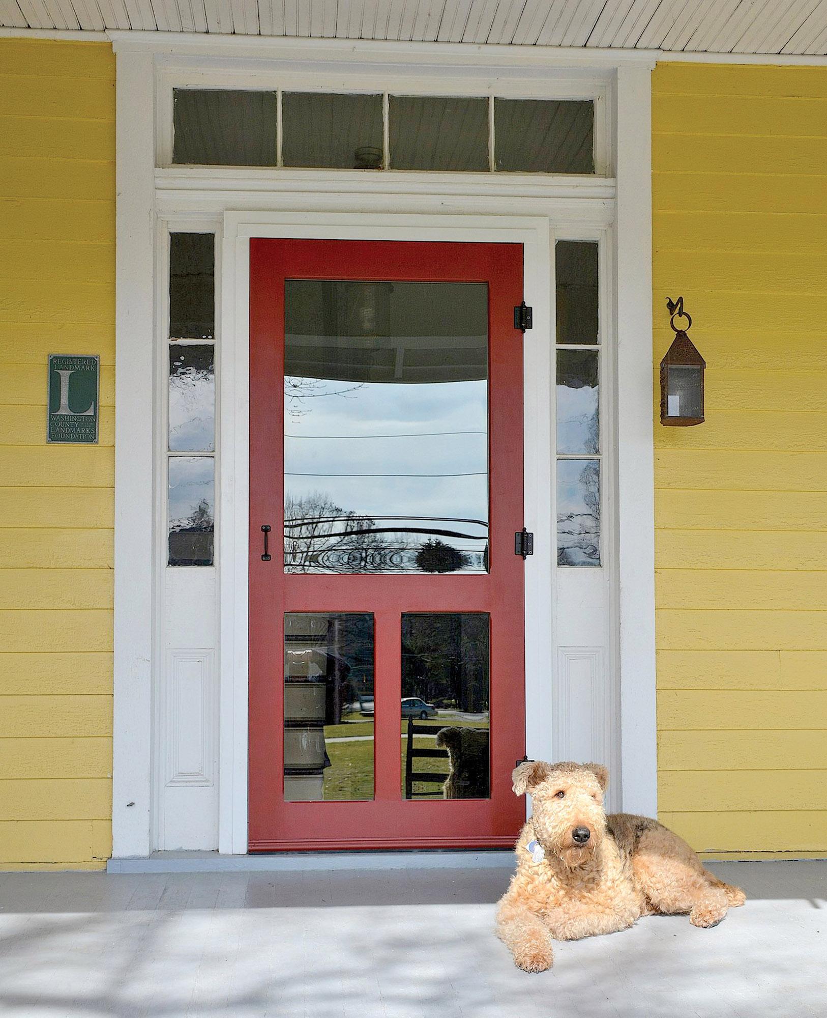 A paintable maple door