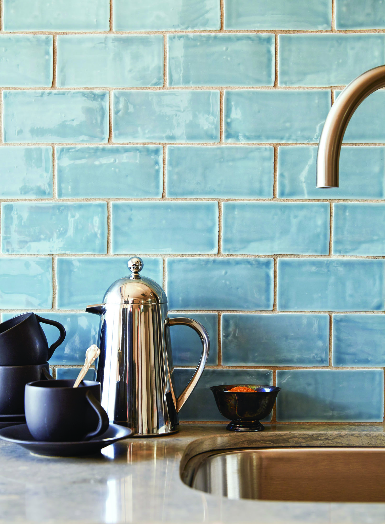 Cafe Water Glow tiles from Walker Zanger.